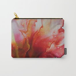 Abstract Magenta Flower Carry-All Pouch