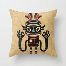 Tribe Gathering Throw Pillow