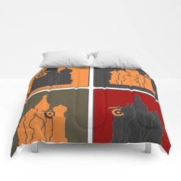 russ.eye Comforters