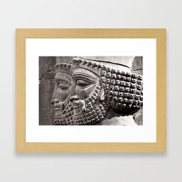 Persian Guards Framed Art Print