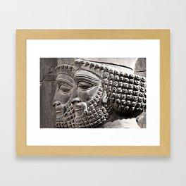 Persian Guards Framed Art Print
