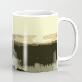 Miami Sunrise Abstract Coffee Mug