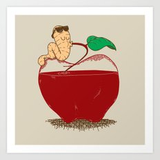 Apple Juice Art Print