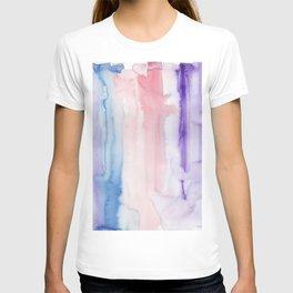15    190907   Watercolor Abstract Painting T-shirt