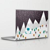 yeti Laptop & iPad Skins featuring Yeti by Kakel