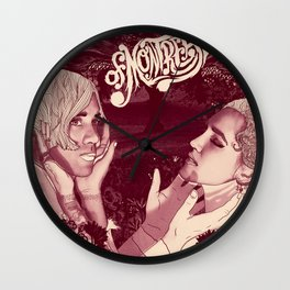Lousy with Sylvianbriar  Wall Clock