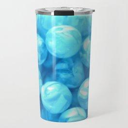 Blue Beachballs | Nadia Bonello | Canada Travel Mug