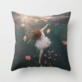 Rosewater Throw Pillow