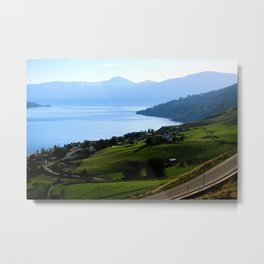 Lake Okanagan  Metal Print