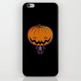 Cutie Pumpkin Pie iPhone Skin