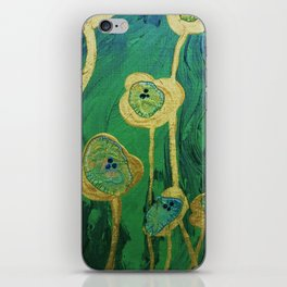 Lotus Blossoms in the Swamp iPhone Skin