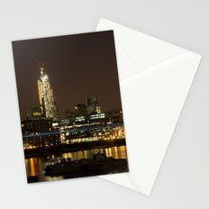 London by Night Stationery Cards