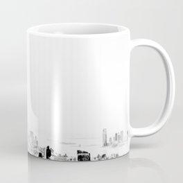 Steam - Fog over New York City Coffee Mug