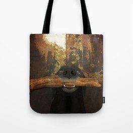 Playful Labrador Tote Bag