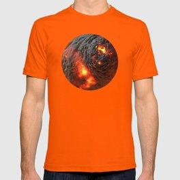 Flaming Seashell 1 T-shirt
