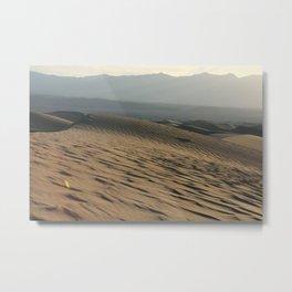 Death Valley   Desert Landscape  Metal Print