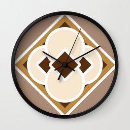 Smore and Hot Chocolate Wall Clock