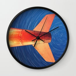Cleared For Takeoff Wall Clock