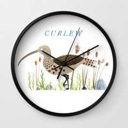 Curlew Wall Clock
