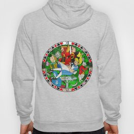 Alice Through the Stained Glass Hoody