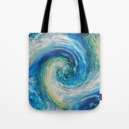 Wave to Van Gogh III Tote Bag