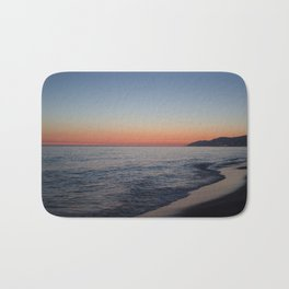 sunset at my beach Bath Mat