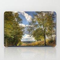 kentucky iPad Cases featuring Kentucky Road by JMcCool