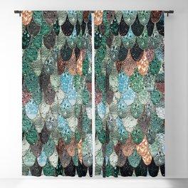 SUMMER MERMAID SEAWEED MIX by Monika Strigel Blackout Curtain