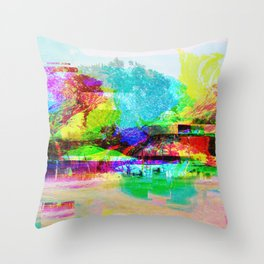 Homeland (collaboration w/ Matt Gilles) Throw Pillow