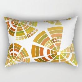Quad Sectors Rectangular Pillow