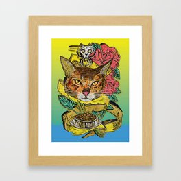 Cat-too 1 Framed Art Print