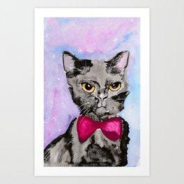Gentleman Cat Art Print