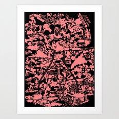 Grow in the Dark Mickey Art Print