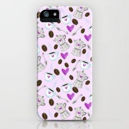 Love coffe iPhone Case