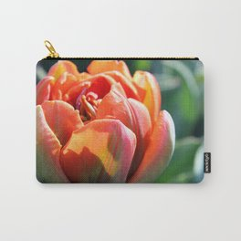 Orange Princess Tulip Carry-All Pouch