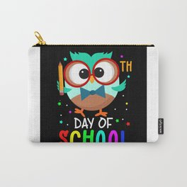 School Day Owl Gift Idea Design Motif Carry-All Pouch