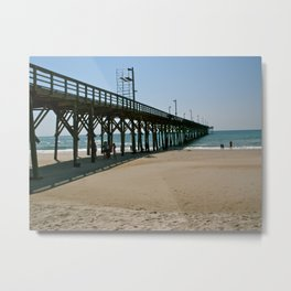 Down by the Pier Metal Print