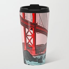 Golden Gate Bridge - Panorama Travel Mug