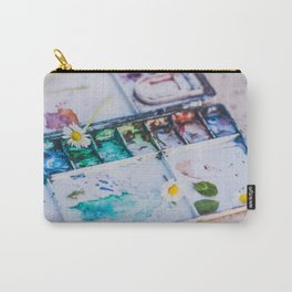 Watercolor Carry-All Pouch