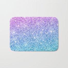 Pink Ombre Glitter Bath Mat