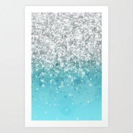 Glitteresques XXXIII Art Print