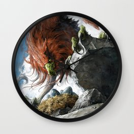 Griffin Mom Wall Clock