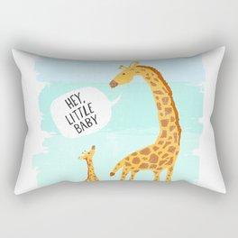 Giraffe Baby Rectangular Pillow