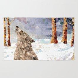 Wolf Serenade Rug