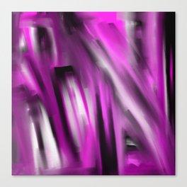 Unbalanced - Pale Abstract 3 Canvas Print