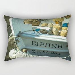 Sponge Boat Rectangular Pillow