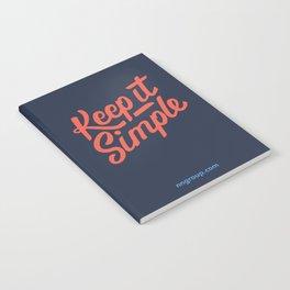 Keep It Simple Notebook