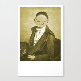 Auto retrato Canvas Print