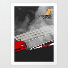 Drive - Chris Harris on Cars Art Print