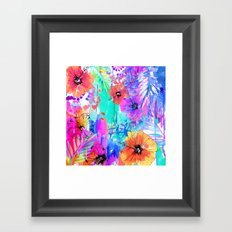 Hawaiian Heat Framed Art Print